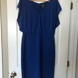 Adrianna Papell Blue Dress size 12